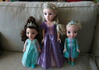 Disney Princess Dolls  Toronto, M9A 4M6