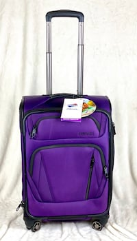 """American Tourister 20"""" Softside Spinner Carryon Luggage Suitcase"""