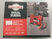 MotoMaster 900A Booster Pack with Air Compressor - NEW! Mississauga, L5J 1J7
