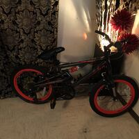 black and red BMX bike McAllen, 78501