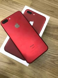 Product Red iPhone 7 plus with box Winters, 79567