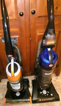 Bissell cleanview upright & Hoover wind tunnel 2 rewind