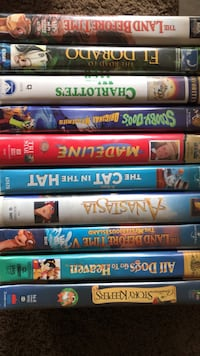 assorted-title DVD case lot East Providence, 02915