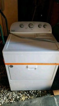 white front-load clothes dryer with all accessorie Jessup, 18434