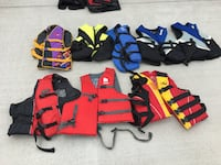 Life Jackets assorted sizes and prices SPRINGFIELD
