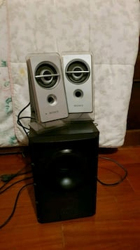 2 Casse + Subwoofer Sony