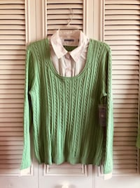 Women's lime green sweater Woodbridge, 22193