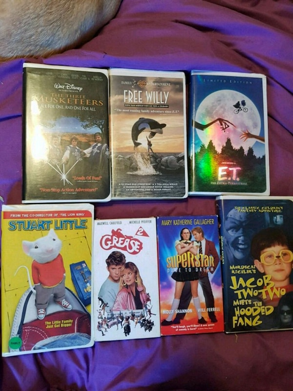 More VHS movies