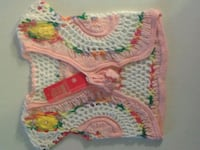 Colourful Crocheted Baby Sweater...BNIP  Oshawa, L1J 4Z3