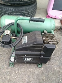 green and black air compressor Del Rey, 93616