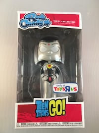 Rock Candy Teen Titans Go! Raven White Exclusive ToysRus Funko Vinyl Collectible  Teen Titans Go!  Raven  Rock Candy Vinyl Collectible  Exclusive!  Only at ToysRus  Don't miss out on this opportunity to pick-up this former Toys 'R' Us exclusive! Parkland, 33067