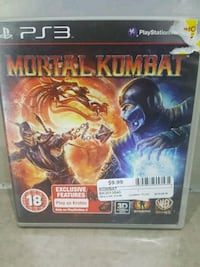 PS3 MORTAL COMBAT Ajax, L1S 4E5