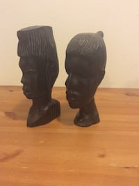 Ebony african sculptures 11 inches Surrey, V3S 9S9