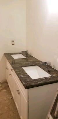 Granite counter top with sinks and faucets $ [TL_HIDDEN]