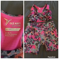 Pink and white active wear Tigard, 97224