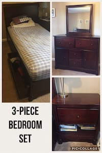 3 Piece Bedroom Set. Scroll Up to see other pieces. Mechanicville, 12118