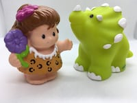 Fisher Price Little People prehistoric woman & dinosaur  Alexandria, 22309