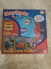 Story Reader System w/ 3 Story Books