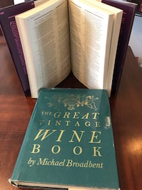 Wine books collection