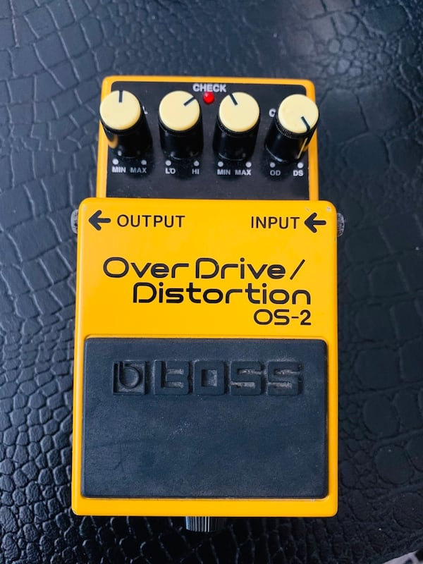 Boss Overdrive-Distortion Pedal 0fba86a0-9f1f-474f-a26d-895deab1de96