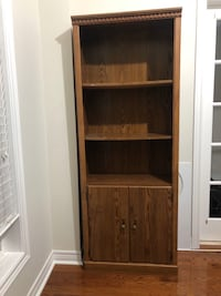 Bookshelf with doors Brampton, L6P 2L3