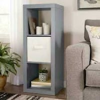 Better Homes and Gardens 3 Cube Storage Organizer, Grey (New in Box) Fort Wayne