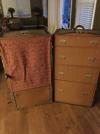 Wardrobe trunk by Becker Leather goods North Potomac, 20878