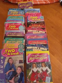Mary Kate and Ashley books. Really good condition  Montréal, H2Y