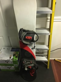 Rage snowboard combo with boots