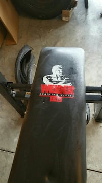 Joe wieder bench press, weights