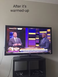 """55"""" TV one issue but otherwise fine Toronto, M5R 2N5"""