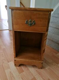 Wooden side table with one drawer  Waterloo, N2V 1P4