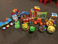 Variety of Fisher Price and V-Tech toys 5.00 each  New Tecumseth, L9R 1M1