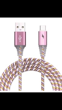 2 Glow-in-the-dark Type-c USB cords Manchester, 03103