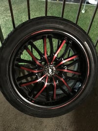 Sports and rim and tire four set 205/55/R16 549 km