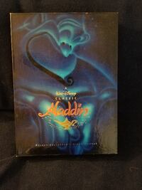 Classic Aladdin VHS Collector's Box Set with limit Independence