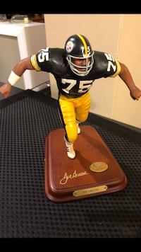 DANBURY STATUE STEELERS MEAN JOE GREENE Essex, 21221