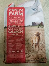 Open farm dog food exp June 2019 Toronto, M1T 3L5