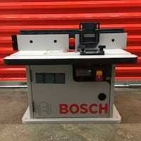 Bosch Router Table and Bosch Router