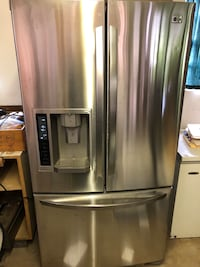 Stainless steel french door refrigerator Oklahoma City, 73116