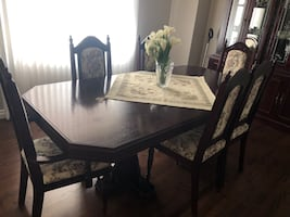 Couches and Dining Room Set