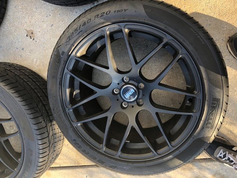"RIMS ONLY 20"" VMR V710 RIMS 3"
