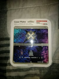 New Nintendo 3DS Monster Hunter X Cover plates Toronto, M6L 1A4