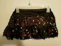 black and red floral skirt 656 mi