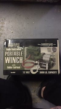 Portable winch Youngstown, 44509
