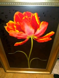 red and yellow flower painting Oklahoma City, 73106
