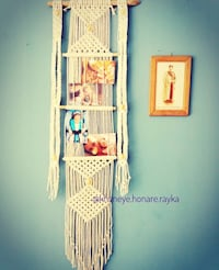 Macrame photo wall hanging newly made Côte-Saint-Luc, H4X 1R3