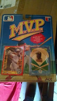 Fred Mcgriff 1990 MVP card and pin set