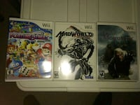 Wii games - prices in description
