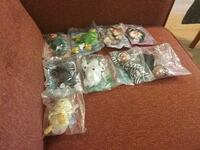 9 McDonald's beanie babies still in packages. Asheville, 28803